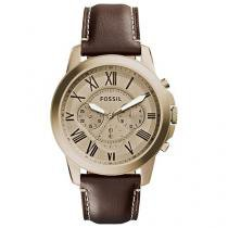 Relógio Masculino Fossil Analógico - Resistente à Água Cronógrafo FS5107/2DN