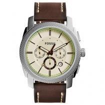 Relógio Masculino Fossil Analógico - Resistente à Água Cronógrafo FS5108/0BN
