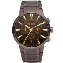 Relógio Masculino Fossil Analógico - Resistente à Água FS4357/1MN