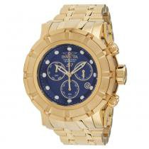 15aecdd4fb2 Relógio Masculino Invicta 23955 54mm Aço Dourado -
