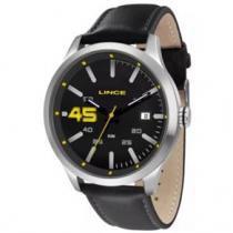 Relógio masculino lince pulseira de couro mrc4357s p2px - Lince