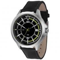 Relógio masculino lince pulseira de couro mrc4358s p2px -