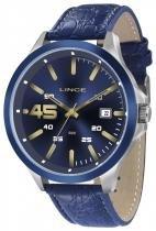 Relógio masculino lince pulseira de couro mrc4365s d2db - Lince