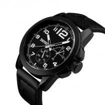 eec0a028e28 Relógio Masculino Luxo Sport Casual Skmei Analógico Original Marca Skmei  9111 Preto -