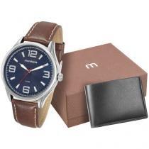 Relógio Masculino Mondaine Analógico - 76566G0MGNH3K com Carteira