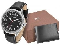 Relógio Masculino Mondaine Analógico - 76566G0MKNH1K com Carteira