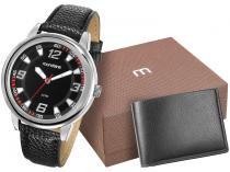 Relógio Masculino Mondaine Analógico - 83307G0MKNH2K com Carteira
