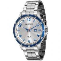 Relógio Masculino Mondaine Analógico - Resistente à Água Long Life 20528G0SVNA2