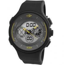 Relógio Masculino Mormaii Anadigi - Resistente à Água Cronômetro MO160323AK/8Y