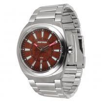 Relógio Masculino Mormaii Analógico MO2315AK/3M - Prata - Único -