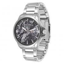Relógio Masculino Mormaii Automatic MO8205AB/3P - Prata - Único - Mormaii