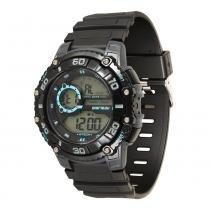 Relógio Masculino Mormaii Digital MO3260/8A - Preto - Único -