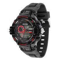 Relógio Masculino Mormaii Digital MOAD1134A/8R - Preto - Único - Mormaii