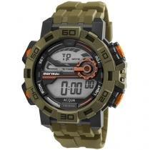 Relógio Masculino Mormaii Digital - Resistente à Água Cronômetro Acqua MO1148AC/8M