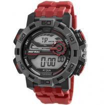 Relógio Masculino Mormaii Digital - Resistente à Água Cronômetro Acqua MO1148AC/8R