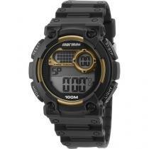 Relógio Masculino Mormaii MO12587A/8D Digital - Resistente à Água Cronômetro Calendário Alarme