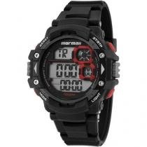 Relógio Masculino Mormaii MO13609/8R - Digital Resistente à Água Cronógrafo Calendário