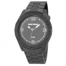 Relógio Masculino Mormaii MO2035FG/8C 48mm Cinza Pulseira Plástico -
