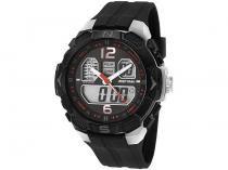 Relógio Masculino Mormaii MO2909/8R Anadigi - Resistente à Água com Calendário e Cronômetro