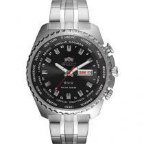 Relógio Masculino Orient 469SS057 Analógico - Resistente à Água com Data