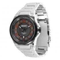 Relógio Masculino Orient Analógico MBSS1205 - Prata - Único - Orient