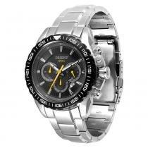 Relógio Masculino Orient Analógico MBSSC066 - Prata - Único - Orient
