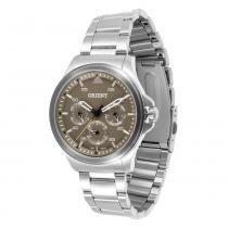 Relógio Masculino Orient Analógico MBSSM049 - Prata - Único - Orient