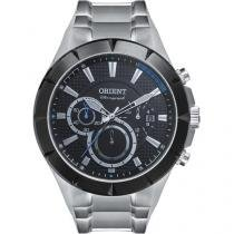 Relógio Masculino Orient MBSSC138 PASX Analógico - Resistente à Água com Cronógrafo