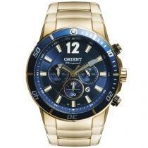 Relógio Masculino Orient MGSSC007 Analógico - Resistente à Água com Data e Cronógrafo