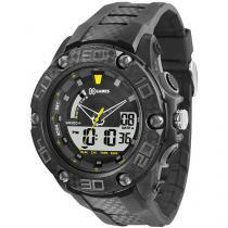 Relógio Masculino Orient XMPPA172 - Anadigi Resitente à Água com Calendário