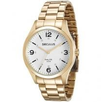 Relógio Masculino Seculus Analógico - Resistente à Água 28891GPSVDA2