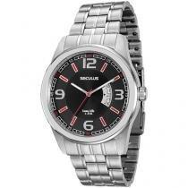 Relógio Masculino Seculus Analógico - Resistente à Água Long Life 20400G0SVNA1