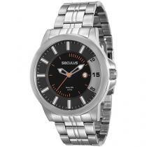 Relógio Masculino Seculus Analógico - Resistente à Água Long Life 20468G0SVNA2