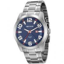 Relógio Masculino Seculus Analógico - Resistente à Água Long Life 20497G0SVNA1