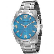 Relógio Masculino Seculus Analógico  - Resistente à Água Long Life 20501G0SVNA1
