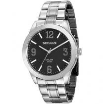 Relógio Masculino Seculus Analógico - Resistente à Água Long Life 28851G0SVNA1