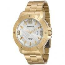 Relógio Masculino Seculus Analógico - Resistente à Água Urbano 28520GPSVDA2