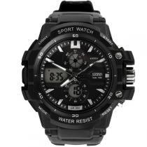 Relógio Masculino Skmei Anadigi 0990 Branco -