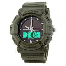 Relógio Masculino Skmei Anadigi 1050 Verde -