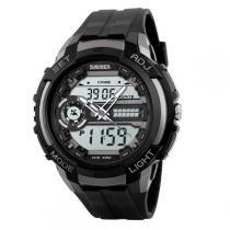 Relógio Masculino Skmei Anadigi 1202 Cinza -