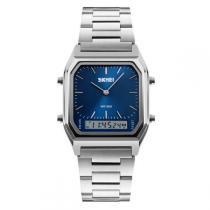 Relógio Masculino Skmei Anadigi 1220 Azul -