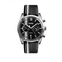 ff1921ce61a Relógio Masculino Skmei Analógico 9148 Branco -
