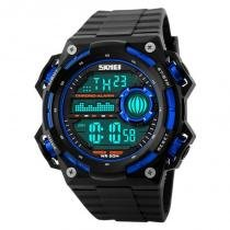 Relógio Masculino Skmei Digital 1115 - Preto e Azul -