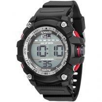 Relógio Masculino Speedo Digital Resitente à Água - Cronômetro Calendário Alarme 81140G0EVNP3