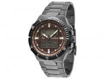Relógio Masculino Technos 0527AA/1P Analógico - Resistente á Àgua Cronômetro Alarme Calendário