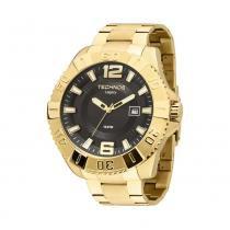Relógio Masculino Technos Analógico 2315AAO/4P - Dourado - Único -