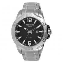 Relógio Masculino Technos Analógico 2315ABB/1P - Prata - Único - Technos