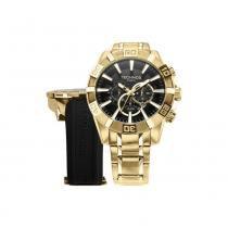 Relógio Masculino Technos Analógico OS2AAJ/4P - Dourado - Único - Technos