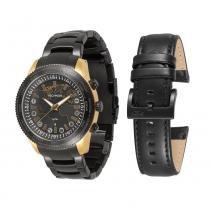 Relógio Masculino Technos Connect 753AA/4P - Preto - Único - Technos