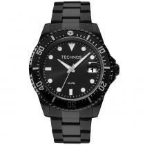 Relógio Masculino Technos Skymaster 2415CL 4P 47mm Aço Preto - a48337a04b